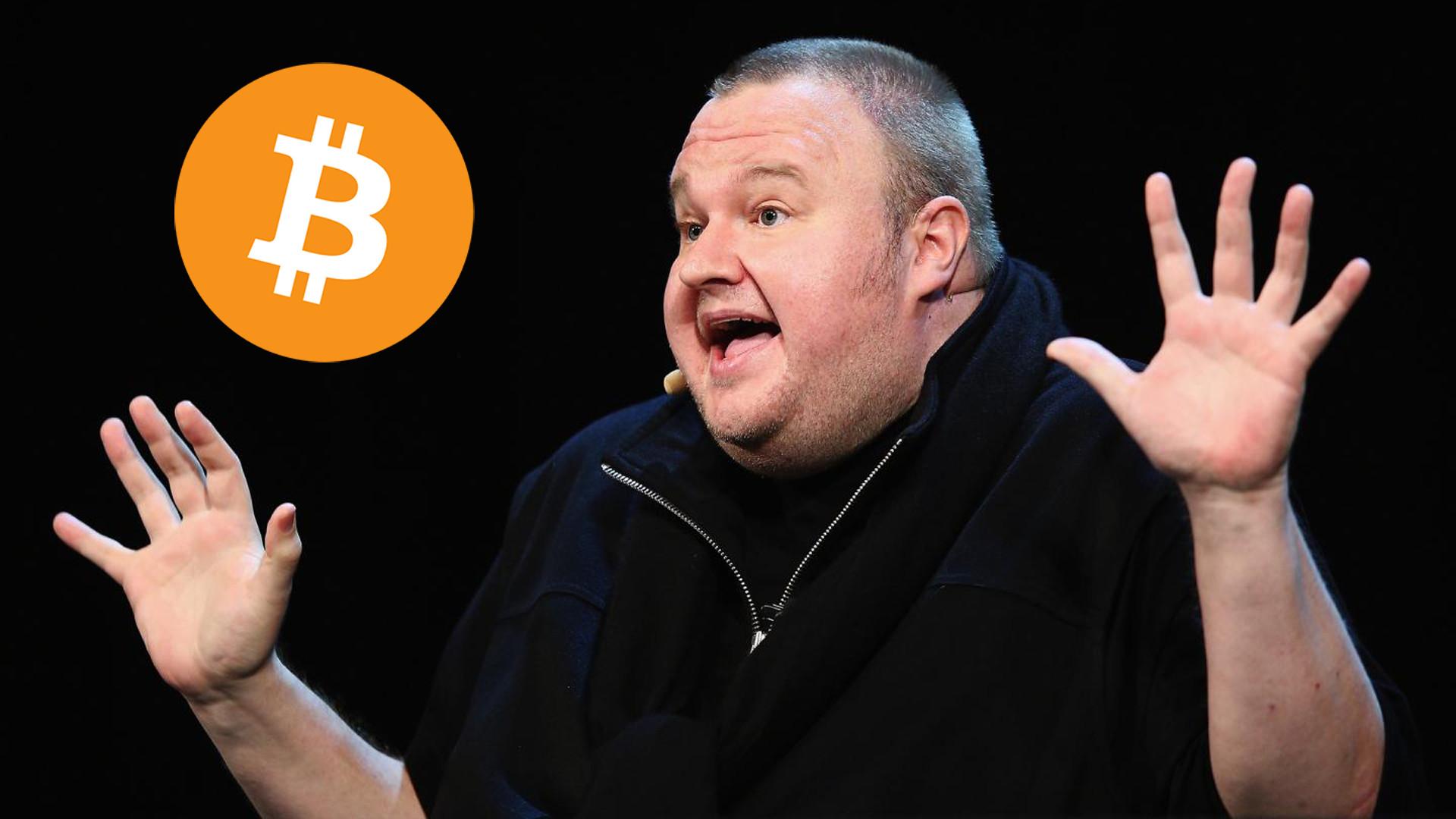 kim dotcom bitcoin)